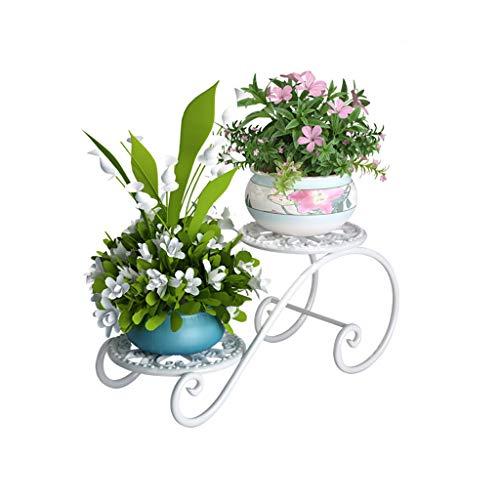 Wangziaolin fioriera, ferro battuto, multistrato, bianco, 45 * 22 *   20 cm, vernice a terra, ecologica, multifunzione, da interno, portaoggetti, balcone, mensola
