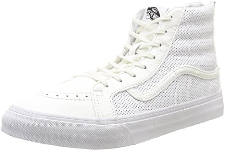 Vans - U Sk8-Hi Slim Zip Perf Leather, scarpe da da da ginnastica, unisex | Nuovo Prodotto  | Uomini/Donna Scarpa  608d45