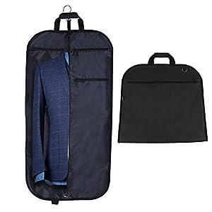 Anpro Anzugtasche Kleidersack mit Schuhbeutel, Anzughülle Kleiderhülle Anzugsack Hochwertig für Anzug und Kleid zum…