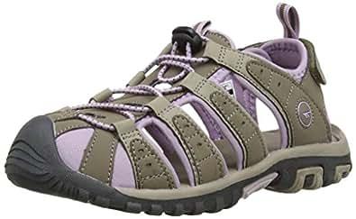 Hi-Tec Shore Women's Hiking Sandals - Beige (Taupe/Dune/Elderberry), 4 UK (37 EU)