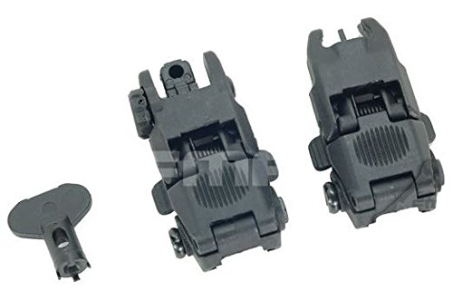 Softair FMA MBus Gen 2 Back Up Sights M4 Iron Sight Schwarz mbuis BUIS PTS UK