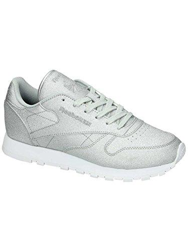 Reebok CL Leather SYN W Calzado silver/grey/white