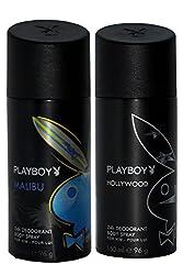 PLAYBOY Pack of 2 Men Deo