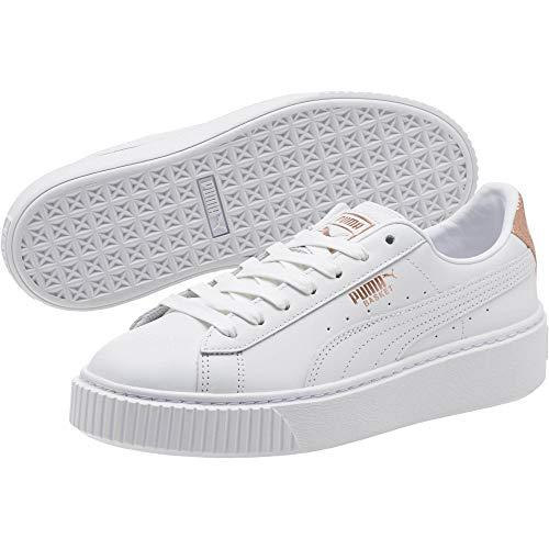 PUMA Basket Platform RG Damen Sneaker Puma White-Rose Gold 6