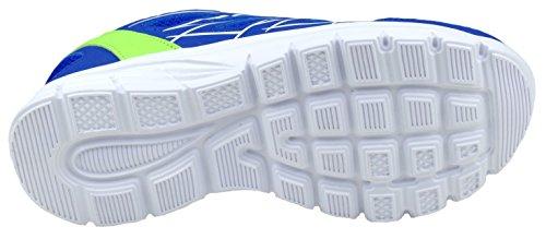GIBRA® Damen Sportschuhe, sehr leicht und bequem, blau/neongrün, Gr. 36-41 blau/neongrün