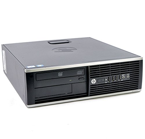 HP EliteDesk 8300 SFF Intel Core i5 240GB SSD Festplatte 8GB Speicher Win 10 Pro DVD Brenner H5S02ET Small Form Factor Mini PC Desktop Computer (Generalüberholt) (Pc Mini Hp)