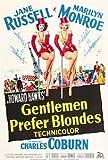 Messieurs préfèrent des Blondes .Marilyn Monroe Classique Affiche Du Film - Super...
