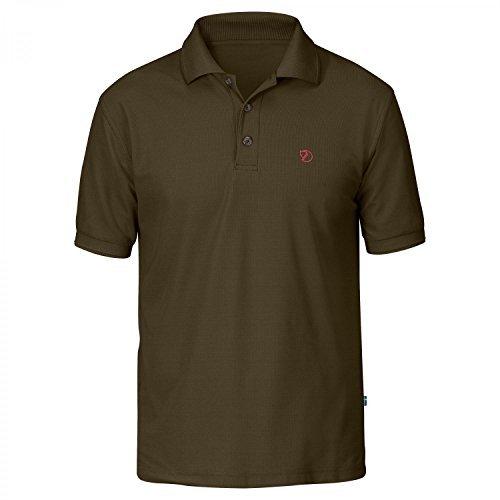 Fjällräven Herren Crowley Pique Polo Shirt dark olive