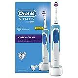 Oral-B Vitality White and Clean Elektrische Zahnbürste, mit Timer