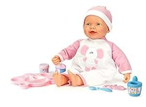 Falca Toys - 48081 - Poupon - Bon Appétit Mon Bébé