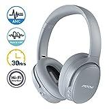 Mpow H10 Cuffie Bluetooth, Active Noise Cancelling Headphones(ANC), Autonomia 30 Ore, Cuffie Wireless Over-Ear Con Hi-Fi Bassi Profondi, Microfono Incorporato CVC6.0, Cuffie Pieghevole Per PC/Telefoni