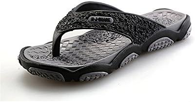 SGoodshoes Chanclas para Sandalias de goma para hombre piscina