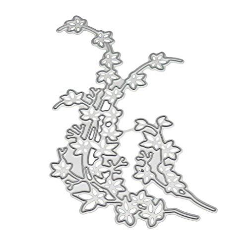 Stanzformen, Prägung, DIY, Blumen-Design, Metall, DIY Scrapbooking, Prägung, Papier, Karten, Album, Schablone – ()