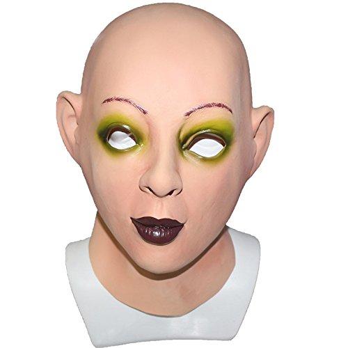 Latex Reality Promi Maskenkostüm Masken Weibliches Gesicht