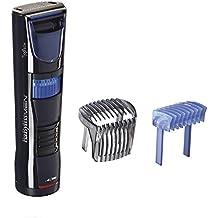 BaByliss Barbero T830E – Recortador especial barba larga, cuchillas de acero inoxidable de 35mm auto lubricantes y desmontables, 60 minutos de autonomía