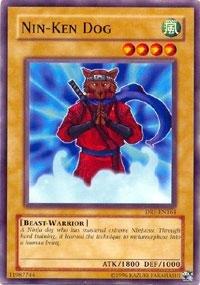 Yu-Gi-Oh! - Nin-Ken Dog (DR1-EN164) - Dark Revelations 1 - Unlimited Edition ...