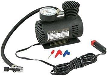 Pompe de voiture électrique portable Denshine, 12Volt 300psi, haute qualité. Compresseur d'air. Gonfleur de pneu de voiture. Outil Vélo Camping avec jauge.