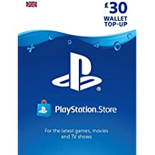 PlayStation PSN Card 30 GBP Wallet Top Up | PSN Download Code - UK account