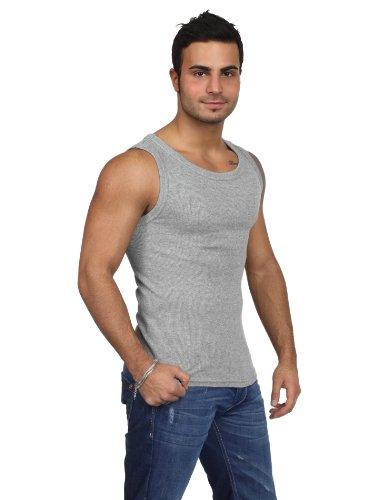 Urban Classics - Mens Tanktop TB066 T-Shirt Männer Schwarz Grau