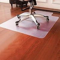 Alfombrilla Costway de 900x 1200mm para proteger el suelo de la oficina o del hogar de los arañazos de la silla, 1,5 mm de grosor con borde