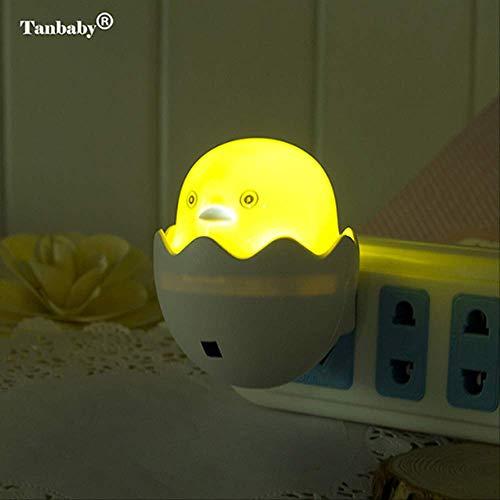 Nachtlicht Mini Cartoon Form Nacht Led Lampe energiesparende Licht Kinder Geschenk für Kinder baby Schlafzimmer Pilz Ente Nacht licht Yellow Duck