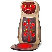 Cojín Masajeador Shiatsu Massage Chair Pad Máquina para masaje de espalda con funciones de calor (