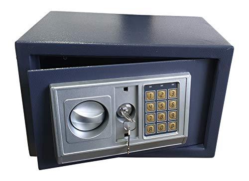 Gardopia Tresor elektrisch mit Zahlenfeld - aus Stahl - Maße 31 x 20 x 20cm -