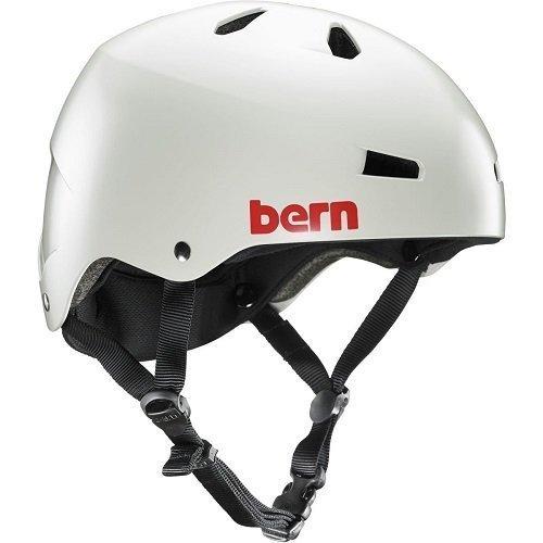 Bern Herren Helm Macon EPS Thin Shell satingrau, XXL/XXXL (60.5-63.5 cm)