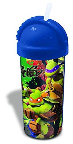 Spearmark TMNT Trinkflasche, Motiv Ninja Turtles, Grün