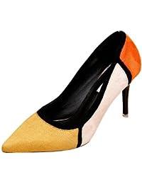 Zapatos amarillos formales Salabobo para mujer vYahRF3hw