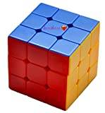 #3: Toyshine High Stability Stickerless - 3X3X3 Speed Cube, Multi Color