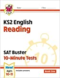 New KS2 English SAT Buster 10-Minute Tests: Reading - Book 1 (for the 2020 tests) (CGP KS2 English SATs)
