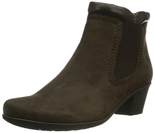 Gabor Shoes 94.692.18 Damen Kurzschaft Stiefel Mehrfarbig (mocca/moro)