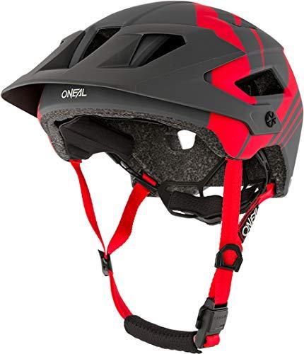 O'Neal Defender Nova All Mountain MTB Fahrrad Helm grau/rot 2020 Oneal: Größe: XS/M (54-58cm)