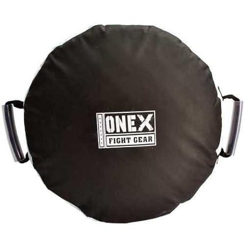 Onex New Round Strike Shield Training Thai Pad Kick Focus Target Boxing Punching Training Mitts(Single