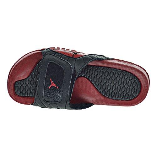 Nike Youths Jordan Hydro XII Retro BG Leather Sandals Noir Rouge