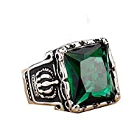 Ring for Men - Green Size 12