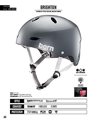 Bern Women's Brighton Eps Satin Cycling Helmet by Bern
