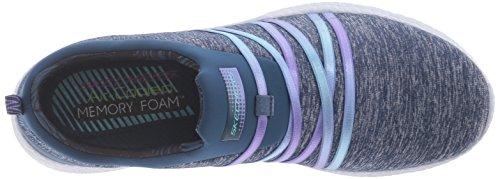 Skechers - Burst-alter Ego, Scarpe da ginnastica Donna Navy