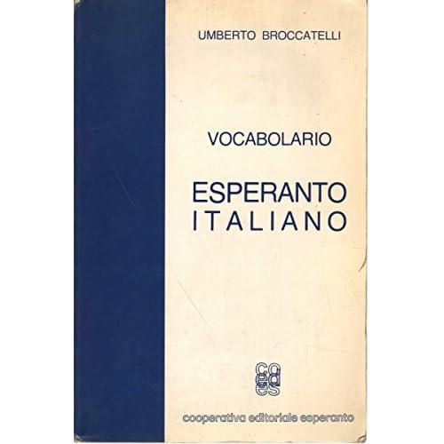 Vocabolario Esperanto-Italiano