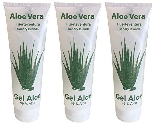 Vidaloe Aloe Vera Gel 99% 250ml x 3 Einheiten -