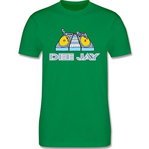 DJ - Discjockey - Discjockey - Herren Premium T-Shirt Grün