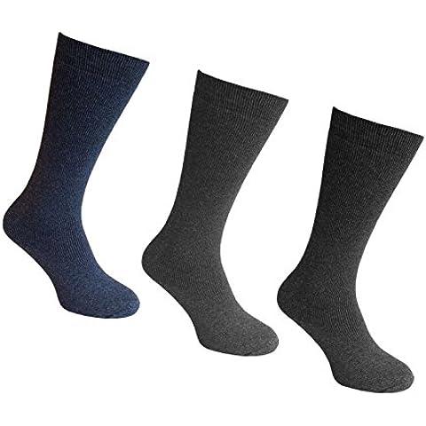 Calcetines para hombre, máxima comodidad de mesa de los tres pares de senderismo o de seguridad para anclaje en tejido de algodón deportes al aire libre calcetines de libro de actividades