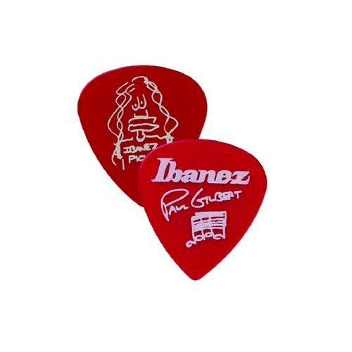 Plettro Paul Gilbert Ibanez 1000PG-CA-1 mm, colore: rosso
