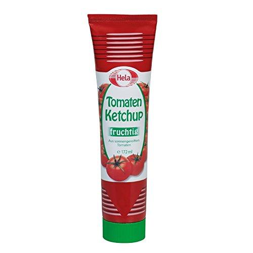 Hela Tomaten Ketchup 172 ml, 7er Pack (7 x 172 ml)