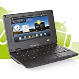 Netbook, Notebook, Laptop 7 Zoll, 17,8-cm, 2 GB, WLAN, Android Meteorit NB-7