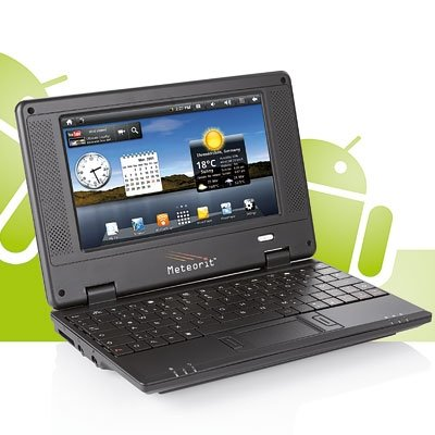 Netbook, Notebook, Laptop 7 Zoll, 17,8-cm, 2 GB, WLAN, Android Meteorit NB-7 (Android Netbook)