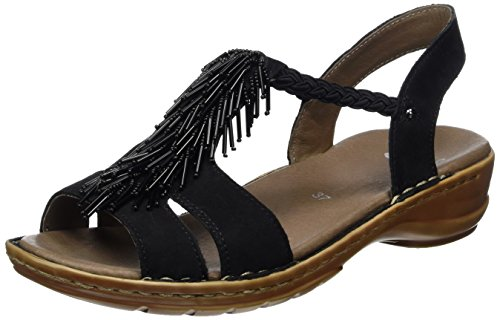 Ara 12-37270 Hawaii donna sandalo Nero