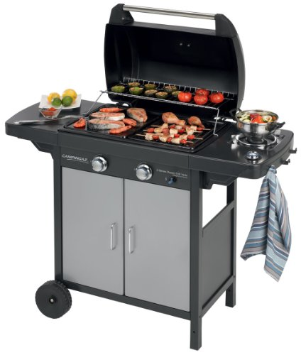 Campingaz Gas Grill 2Series Classic EXS Vario, nero