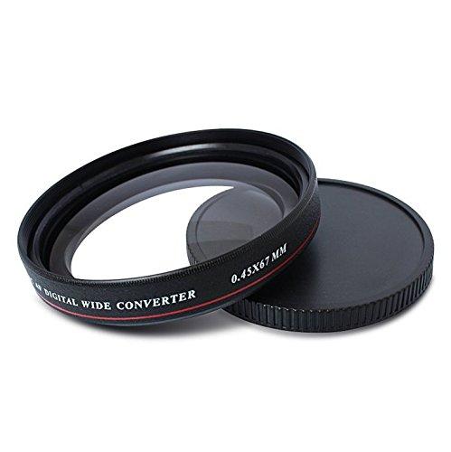 Zomei Ultra Slim 0,45x Weitwinkel-Objektivfilter, Objektivgewinde für Nikon Canon Sony etc. DSLR Kamera